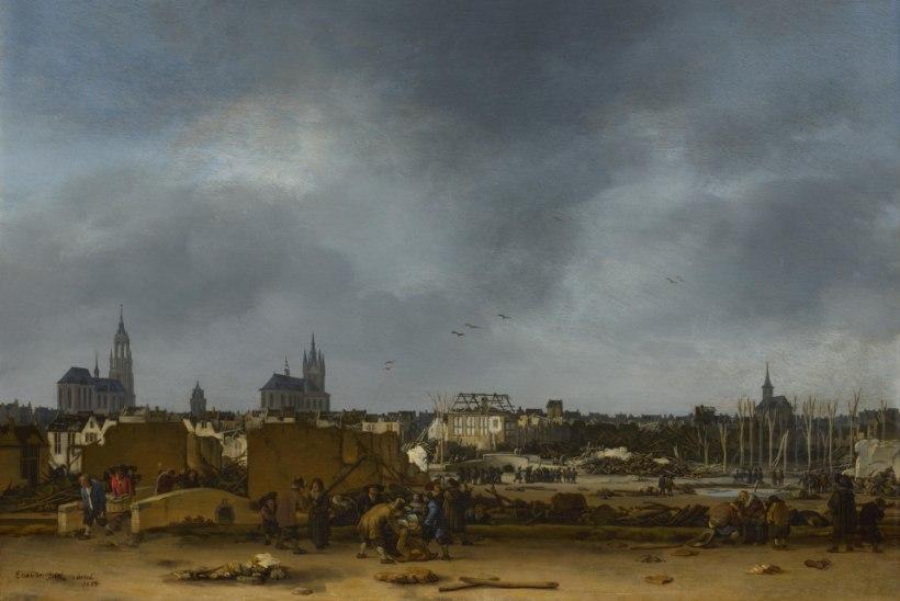 MINEVIKUHETK   12. oktoober: Delfti püssirohukeldri plahvatuses hukkus Rembrandti andekaim õpilane