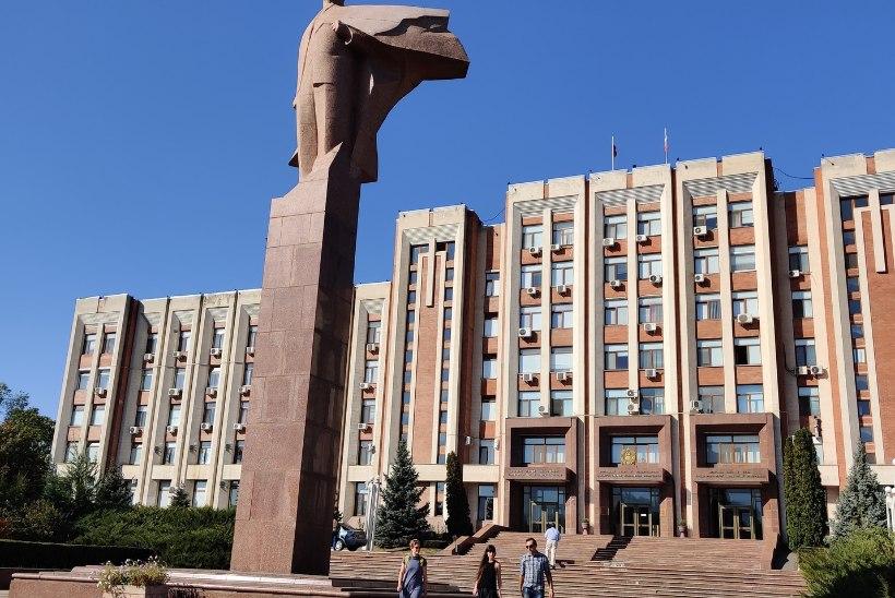 Transnistria – patiseis Lenini kujude ja nõukogudemeelsete vanuritega kestab