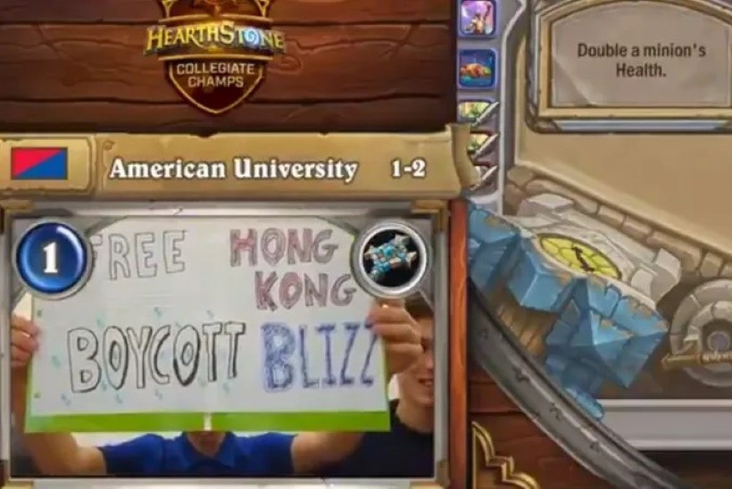 TOPELTSTANDARD? Hongkongi e-sportlast karistanud Blizzard pigistas ameeriklaste puhul silma kinni