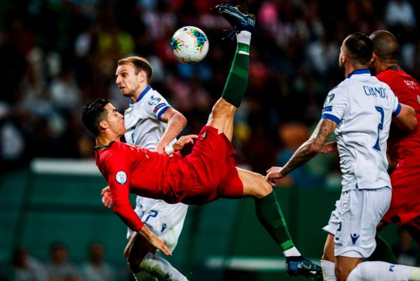 VIDEO   Ronaldo iluvärav tõi portugallase ülivõimsa saavutuse lävele