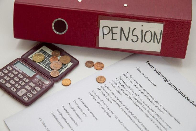 Keskmine pension maksu alla: erakorraline pensionitõus läheb paljuski riigile tagasi