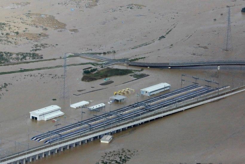 Taifuun Hagibis külvas surma ja hävingut