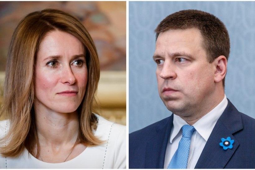 Kaja Kallase ja Jüri Ratase vahel läks väga teravaks aruteluks