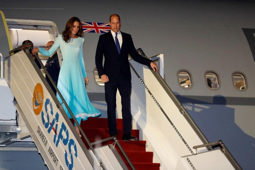 Hertsoginna Catherine tegi Pakistanis kummarduse Dianale