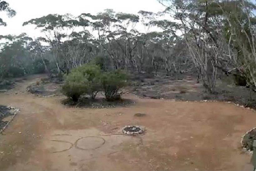 Mullale joonistatud SOS märk päästis Austraalia matkaja elu