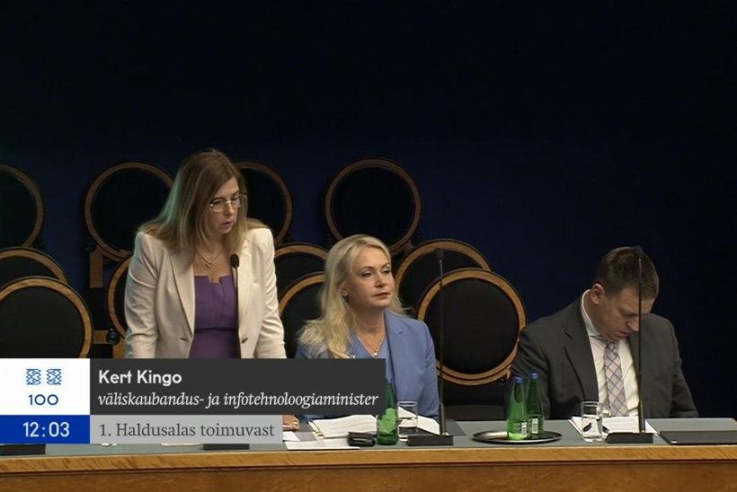 Kert Kingo riigikogus: mul on EASiga ainult positiivsed kogemused olnud