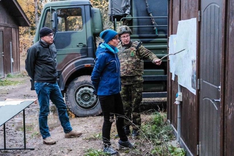 FOTOD | President Kaljulaid Okasel: tänu reservistide valmidusele on Eesti kaitstud