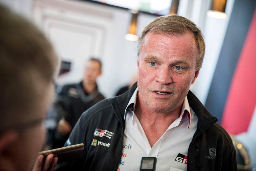 Mäkinen meenutas Soome rallitalendi esimest WRC-kogemust, mille peale tal suu ammuli vajus