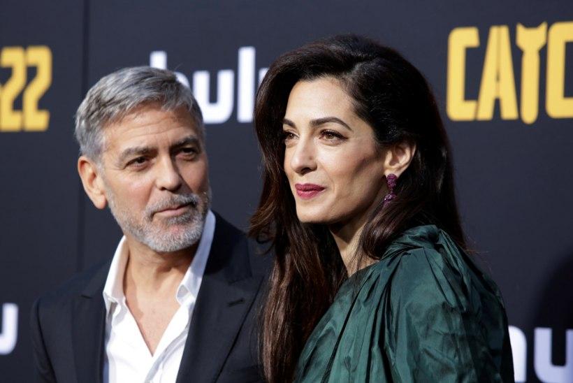 George Clooney naiseõde pisteti Singapuris trellide taha