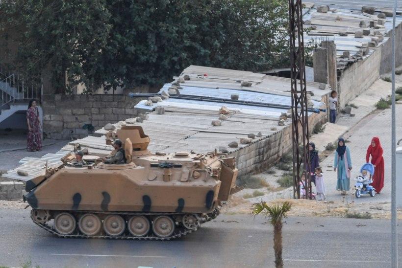 Türgi peatas ajutiselt sõjategevuse Süürias