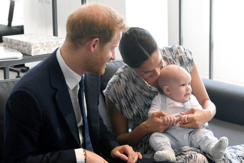 Prints Harry kinnitas viimaks, et Archie on punapea