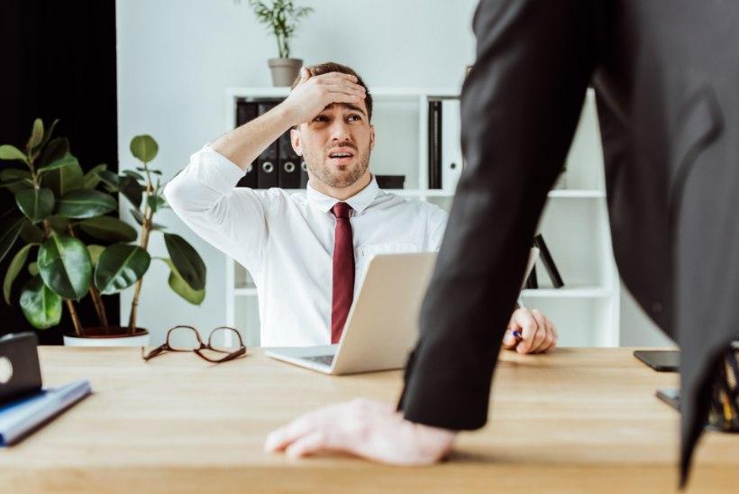 Partneri töised karistused on halb märk