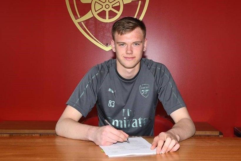Arsenalis mängiv 17aastane Karl Jakob Hein: loodan, et olen järgmine Mart Poom