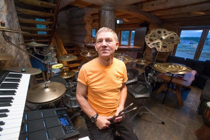 """GALERII   Paap Kõlar: """"Olen lootusetu trummitaldrikute kokkukuhjaja."""""""