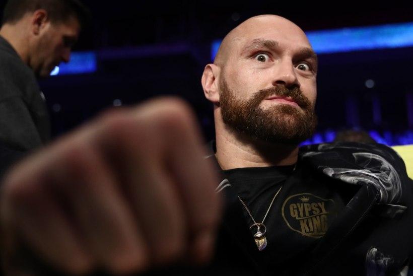 """Poksi maailmameister Fury sukeldub ulmesumma eest nalja""""sporti"""""""