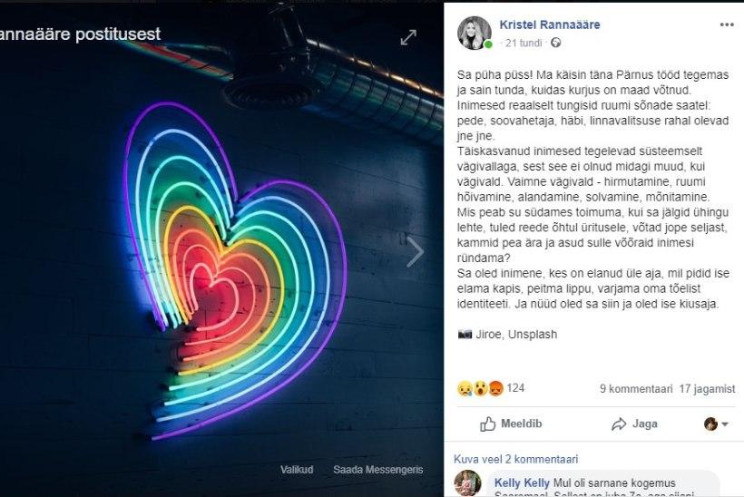 EKRE liige LGBT üritusest: minge kappi tagasi!