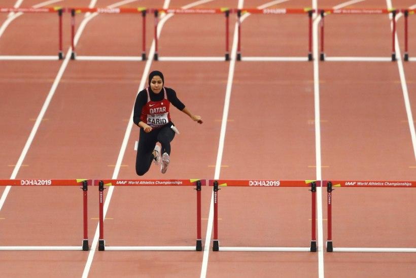 Doha MMil hidžaabiga võistelnud kergejõustiklane: kas minu peakate on tõesti nii šokeeriv?