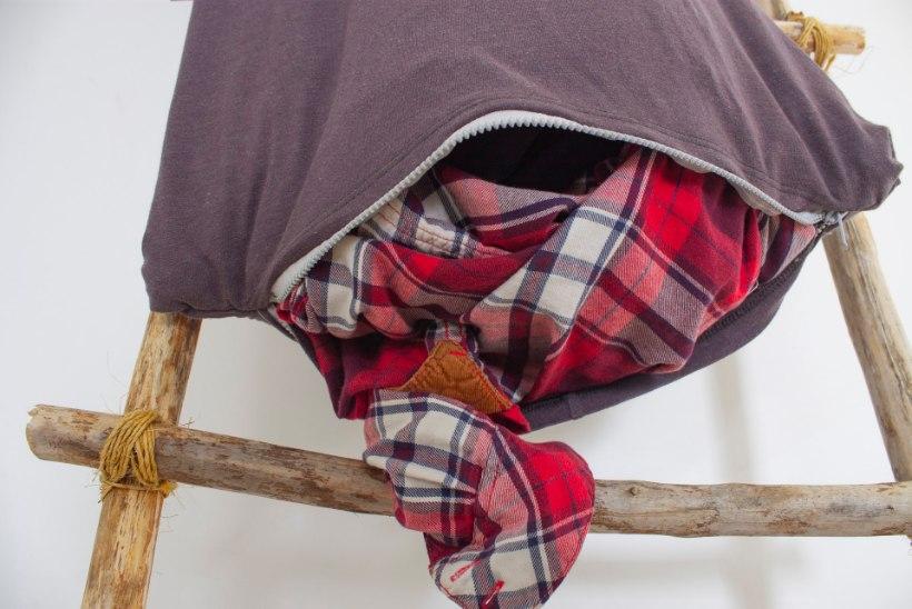Geniaalne idee: et must pesu nurgas silma ei riivaks, meisterda kasvõi igasse tuppa sobiv pesukott