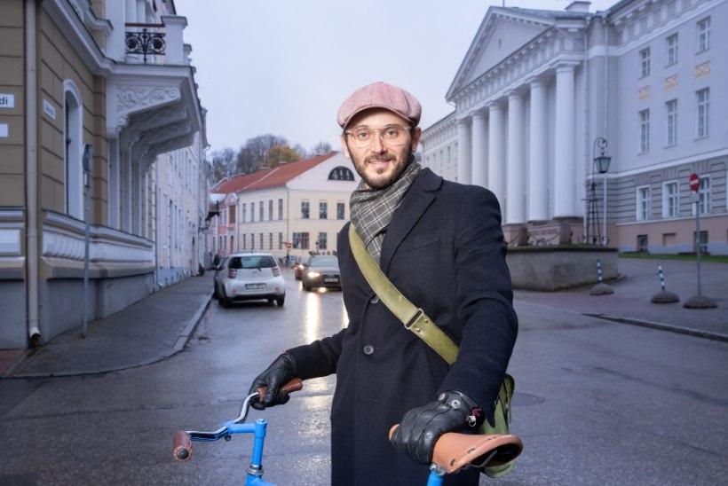 """Robert Annus: """"Eks mul oli sellest sõitmisest Tartu-Tallinna vahel rohkem kui küll ja hakkasin Tallinnas natukene viilima, et olla rohkem oma kodus Tartus."""""""