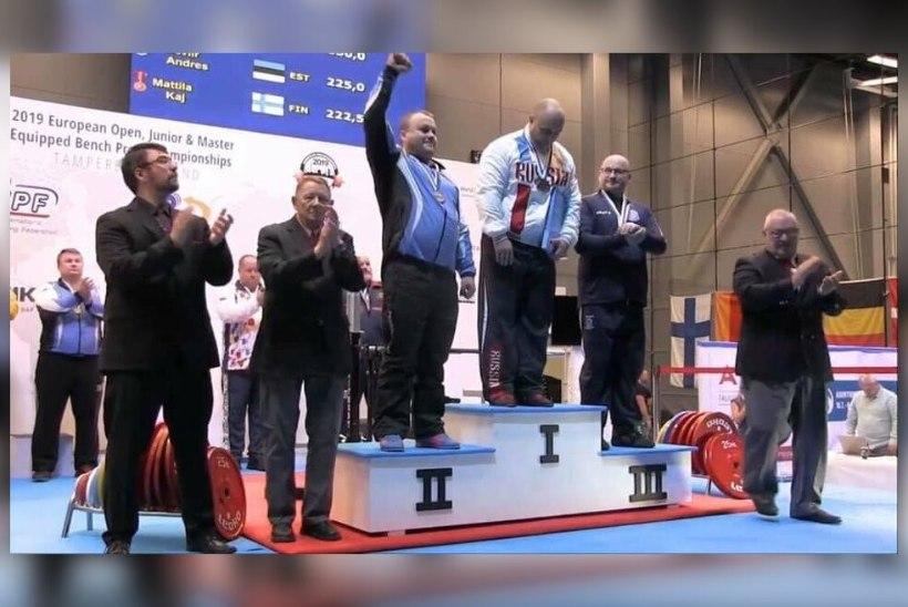 HEA TÖÖ! Eesti võitis jõutõstmise EMilt kaks medalit