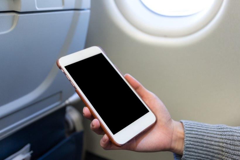 Ilma pileti ja dokumendita naine pääses lennukisse... ning püüdis ametiisikutele näidata ID-kaardi asemel enda fotot telefonis!