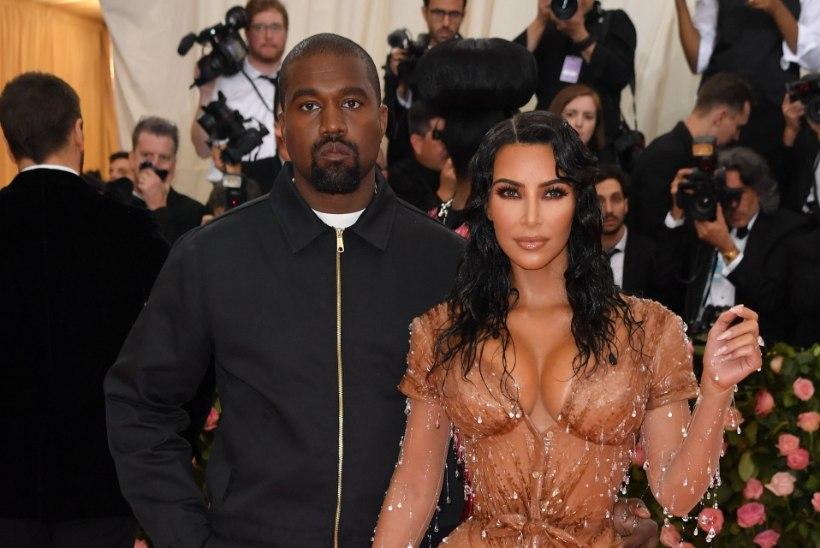 Kim Kardashian ja Kanye West piirduvad nelja lapsega