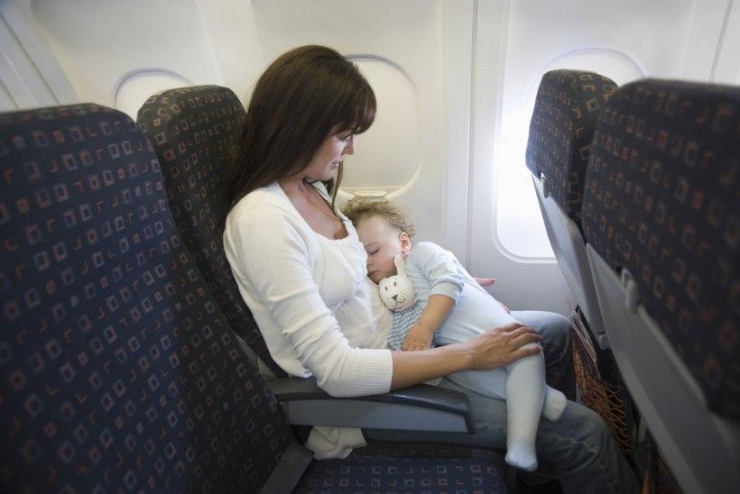 Kolumnist: kas ma olen ainus või ka sina armastad beebisid lennukis?