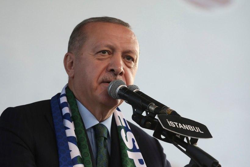 E-sigarette jälestav Erdogan soovitas türklastel veipimise asemel teed juua