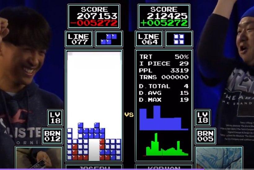 """""""Tetrise"""" maailmameistriks krooniti teist aastat järjest teismeline nooruk"""