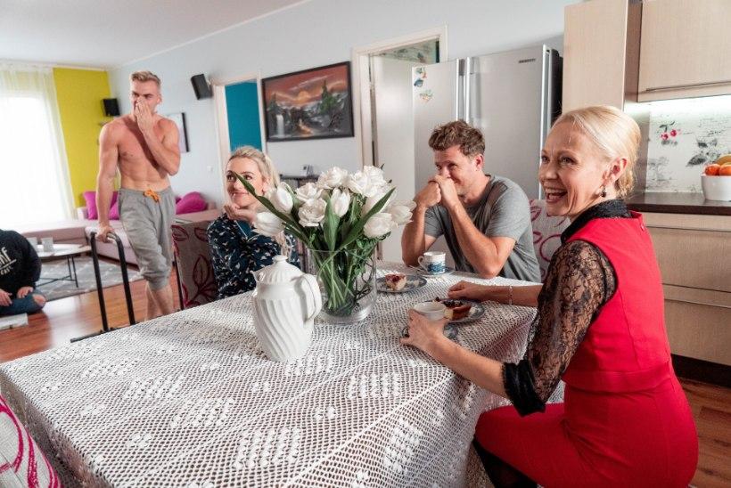 """FOTOD   Grete Kleini nägus vend liitub """"Padjaklubiga"""""""