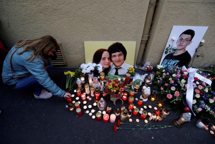 AMETLIK SÜÜDISTUS: Slovaki uuriva ajakirjaniku mõrva tellis tuntud ärimees