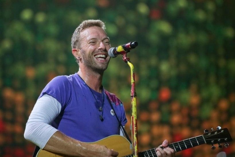 Coldplay paljastas fännile saadetud kirjas megauudise