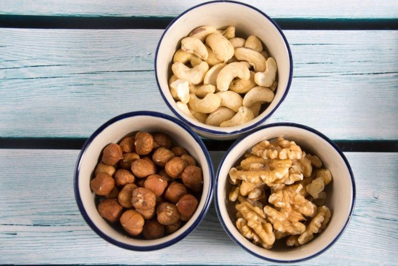 ASENDA SAIAKE PÄHKLITEGA! Kuidas valida kõige tervislikum pähkel ja milliseid vältida