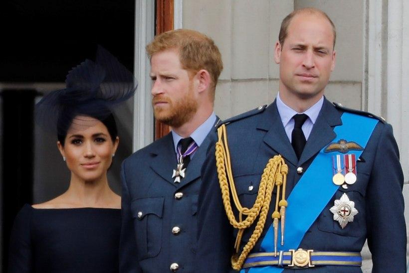 Prints William muretseb noorema venna Harry vaimse seisundi pärast