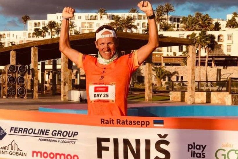 Ultramees Ratasepp liigub täistuuridel maailmarekordi suunas