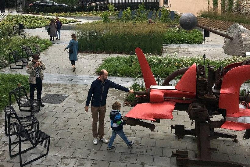 Aeg ja aed: Vilniuses püüab pilke Mo kunstimuuseumi haljastus