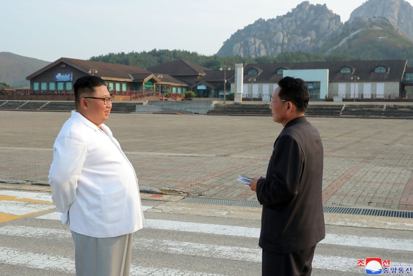 Kim Jong-un käskis Lõuna-Korea ehitatud puhkekeskuse maatasa teha