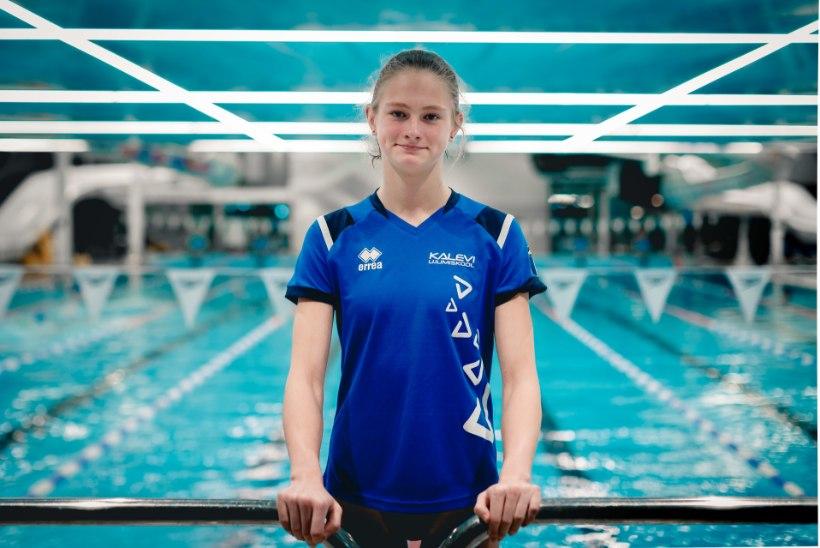 Imelaps Eneli Jefimova – Eesti ujumise kuldkala