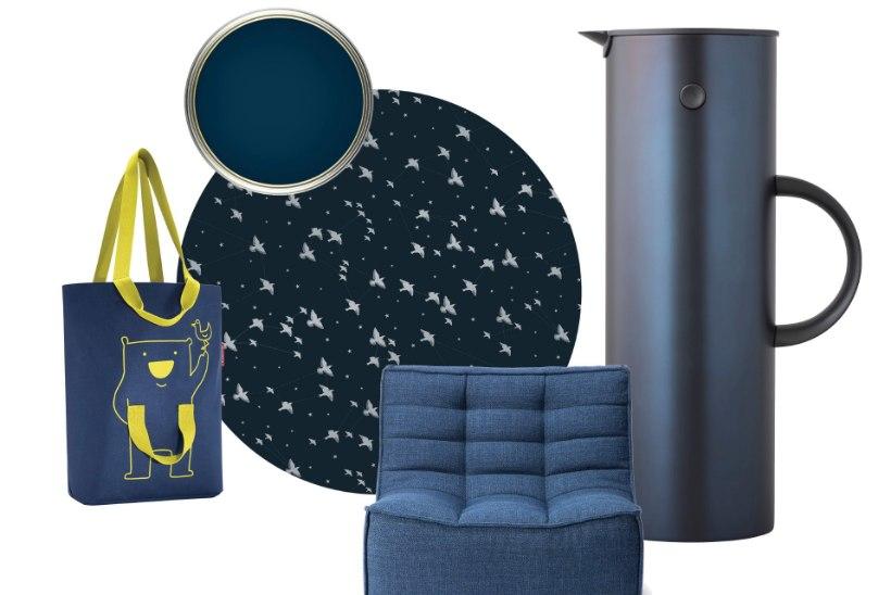 Uued trendid värvimaailmas! Videviku ja hingede aja saabudes kogu jõudu sinisest!