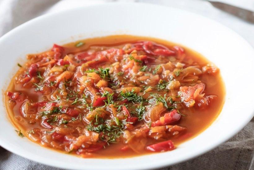 SÜGISMAITSED PURKI | Paprika-tomatisupp
