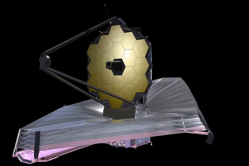 Webbi kosmoseteleskoop võib näha aegade algusesse