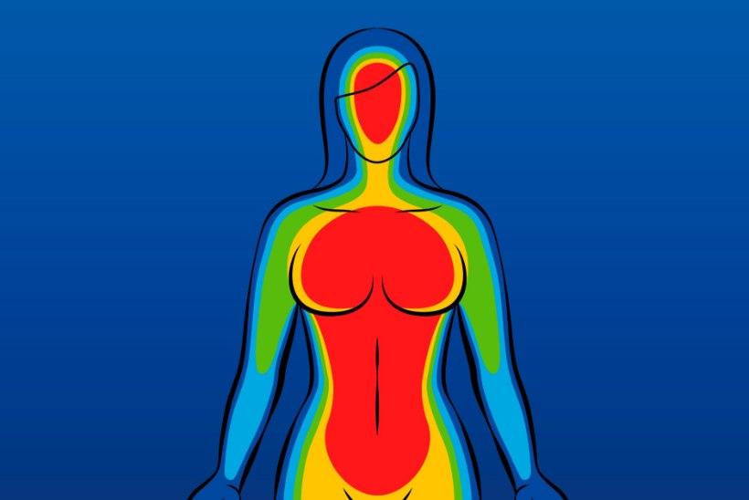 RABAV ÜLLATUS: naisel avastati rinnavähk tänu soojuskaameraga tehtud pildile