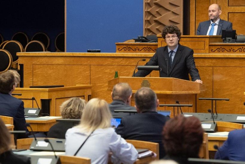 FOTOD | Riigikogu nimetas Kalev Saare Riigikohtu liikmeks