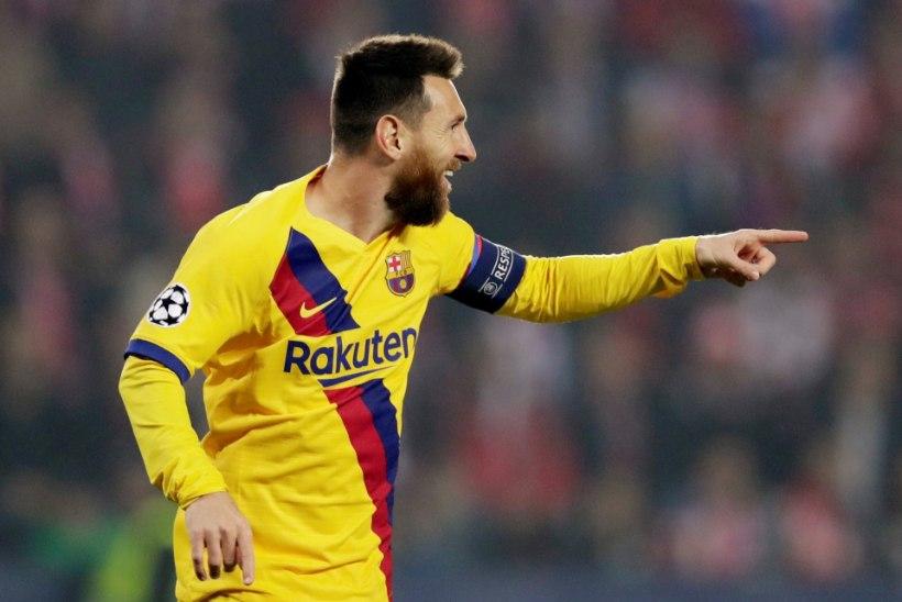 Lionel Messi jõudis Meistrite liigas fenomenaalse saavutuseni