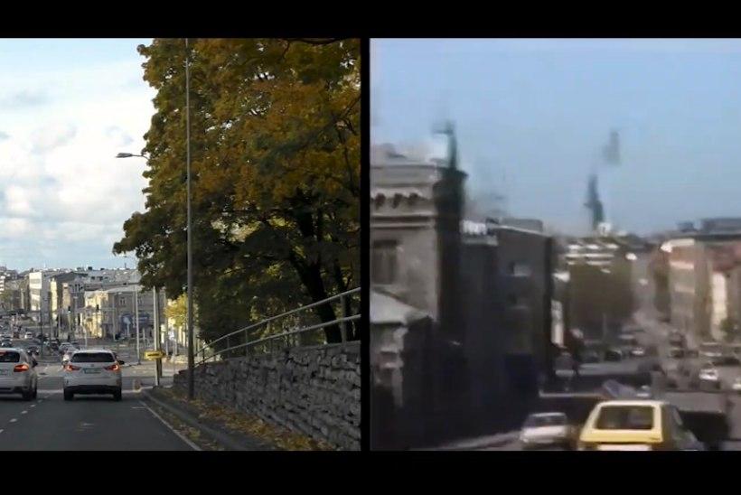 VIDEO   Vaata, kuidas on Tallinn 25 aastaga muutunud