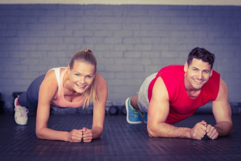 Viis harjutust, mis aitavad kuu ajaga vormi