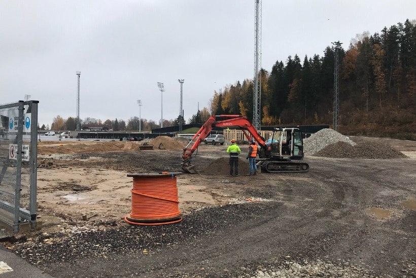 Spordimeka areneb! Tehvandi staadioni uuendamine läheneb lõpusirgele