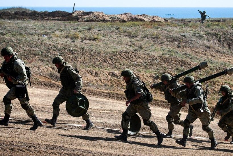 Vene sõdur lasi kaheksa kaaslast maha