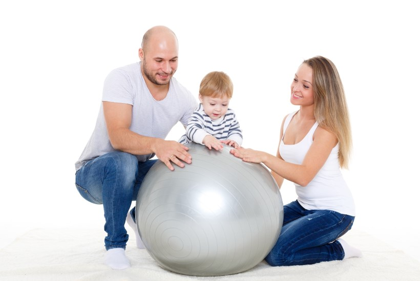VIDEO | Võimlemispalli treening 2-6 kuu vanusele lapsele