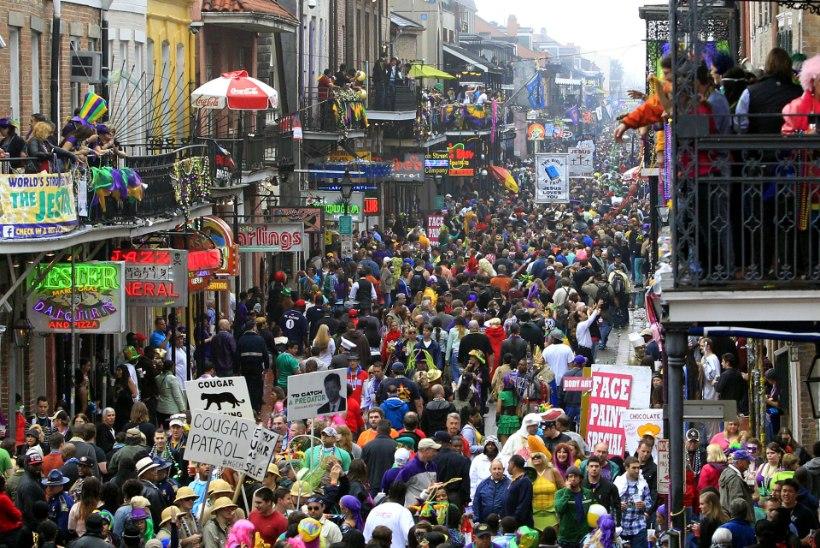 Värviline New Orleans tõestab, et ka Ameerikas kohtab kirevat kultuuri